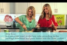 Cooking Shows / Our Crockin' Girls Cooking Videos / by Crockin Girls