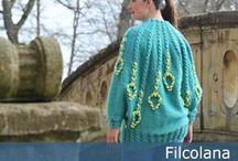 Mit design For Filcolana - my design for Filcolana / Charlotte Kaae design for Filcolana - gratis strikkeopskrifter Charlotte Kaae patterns for Filcolana - free knitting patterns