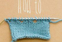 Strikketips - knitting tutorials