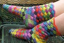 Sokker jeg drømmer om at strikke - Dream socks for knitting / Her samler jeg de billeder af sokker, som jeg bare må strikke en dag.