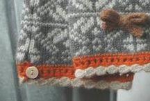 Kanter på strik og hækling - edges on knitting and crochet