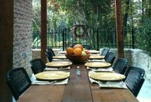 Decorating: Outdoor Living / Outdoor furniture, landscaping and gardening / by Tanisha Haynes