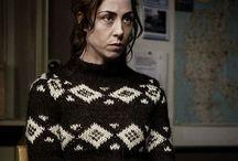 Strik fra tv serier - knitting from tv Series / Trøjer fra tv