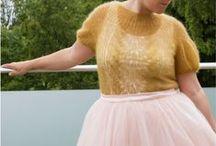 Sommer strik - summer knits / Ideer til sommerstrik - ideas for summer knits