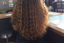 Naturally curly hair / Natural curls I love and products and processes that make curls lovely. / by Squeaky_Mechanchic