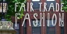 Ethical Fashion / Fair trade fashion and sustainable products made with heart and purpose.