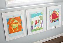 Kids Art Gallery Wall / by Stacy Ward - Delva B. Tree