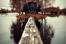 if I had a cabin.... / by Amy Hirsch