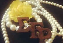 Sigma Gamma Rho / All things Blue, Gold and Sisterly. / by Lorna Swan