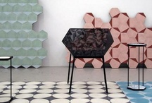 Tiles and Coverings / Ceramic, cement, porcelanic tiles. We will pin those we love the shape or those applying a good dose of imagination.