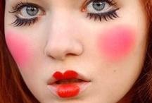 color my face...fun W/makeup