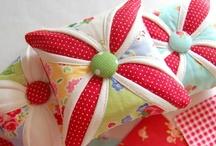 Pin Cushions / by Stacy Ward - Delva B. Tree