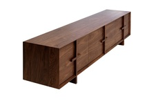 Walnut Furniture / We love walnut furniture, from modern designs to classics.  The Lyon walnut range we supply is very thick and chunky and one of our best sellers.