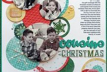Scrapbooking-- Christmas/Winter