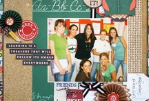 Scrapbooking-- Fall, School, Sports