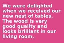 Testimonials / Testimonials of our fantastic range of Oak Furniture Solutions' products