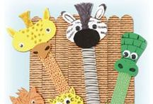 Animal Related Crafts / This board involves a variety of crafts from different areas that revolve around different animals.