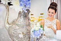 INSPIRED | High Tea Inspiration / Bridal Showers or Hens High Tea <3 Inspirational LOVE!  Divine little ideas to inspire you and your maids for the perfect bridal shower