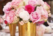 BRIDAL SHOWER | Pink & Gold