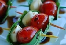 Appealing Appetizers / Small bites to enjoy  / by Kathy McNutt