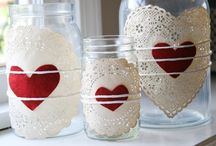 Valentine food and crafts / by Heather Anderson