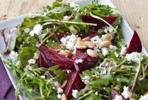 Tasty Salads / Sides or main dishes to enjoy! / by Kathy McNutt