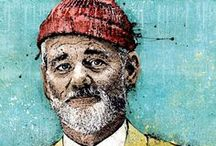 TrIbUtE tO BiLl MuRrAy :D / #bill #murray / by Cyrille Le Floch