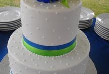 Anna's Wedding / Anna wants a royal blue and lime green wedding :)  Help us pin away!