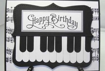 Creative Cards- Birthday / cards made using punches, stamps and other materials / by Kathy McNutt