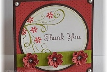 * Cards - Thanks / by Deborah Thornhill
