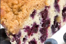 Coffee Cakes / Cakes that you can eat for brakfast or anytime of the day! / by Kathy McNutt