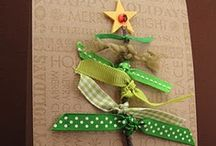 Creative Cards- Christmas Trees / Cards using stamps and punches / by Kathy McNutt