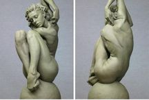 Sculpture / Fascinating sculptures, figurines, relief and statues.