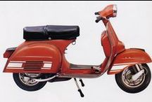 Red Paint | Vintage Vespa Scooters / Vintage Vespa Scooters in Red, Rot, Rood,Rouge, Rosso, Rojo Colours