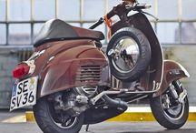 Brown Paint | Vintage Vespa Scooters / Vintage Vespa Scooters in Brown, Braun, Bruin, Brun, Marrone Colours