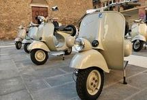 Vespas in Beige