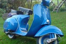 Vespa in RAL Farben / Colours / Peinture