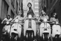 Vintage Vespa photos