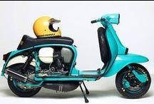 Lambretta Vintage Scooter