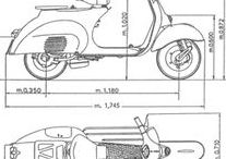 Vespa Blueprints