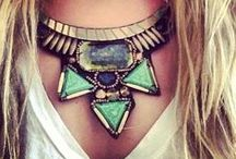 Jewels, Gems & Chunky Funk / by Stevi Mahaffey