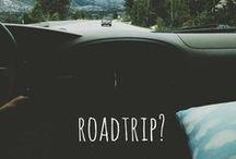 on the road... / by Stevi Mahaffey