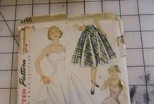 Sewing Patterns / my collection of sewing patterns