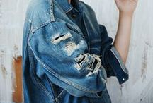denim style / by Viktoria