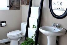 Bathroom Idea things / by Jaye Thompson