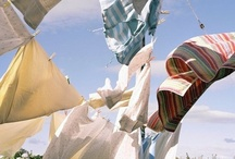 Before the Dryer / there were Clothes lines / by Denise Pilat-Curatolo