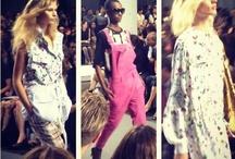 Fashion Week Flashbacks / by Stevi Mahaffey