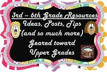 3rd-6th Grade Resources / by Designed by MsD
