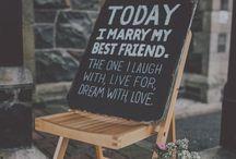 wedding | signage
