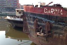 Ships, boats, shipwrecks, ports, marinas